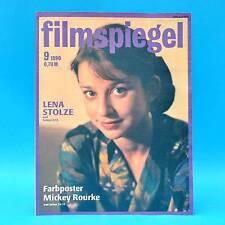 DDR Filmspiegel 9/1990 Mickey Rorke Paul Hogan DEFA Lena Stolze Gino Cervi M
