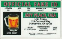 fun Official Fake ID - plastic ID card Drivers License -