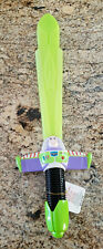 Disney Buzz Lightyear Sword Toy Story Vintage World Of Ice Lights Up 22""