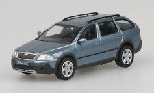 Skoda Octavia Combi Scout - Grey Satin Model Car By Abrex 1:43 SCALE RefSKO19