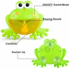 Blower children'S fun bath toyS bubble machine frog automatic Shower muSic