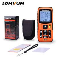 LOMVUM Laser Distance Meter Rangefinder Area volume Measurement Battery Powered