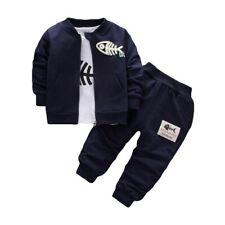 Set Cartoon Children's Clothing Pure Cotton Casual Sportswear Kids Clothes Suit