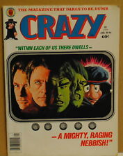 Crazy Magazine Issue 46 Jan 1979 The Hulk The Punk Rock Song Book