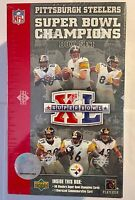 Pittsburgh Steelers Super Bowl XL Champions Upper Deck Card Box Set - Sealed