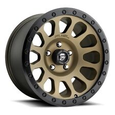Fuel Vector D600 17x9 6x5.5 ET-12 Bronze Rims (Set of 4)