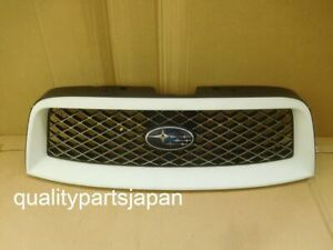 SUBARU FORESTER SG FRONT GRILL STI CROSS SPORT GRILLE OPTION WHITE