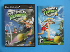 NO GAME- PS2 HOT SHOTS TENNIS - GAME CASE & MANUAL ONLY - NO GAME