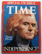 TIME Magazine Special July 4,1776 Bicentennial Issue Thomas Jefferson cover 1976
