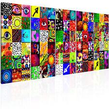 ABSTRAKT BUNT Wandbilder xxl Bilder Vlies Leinwand a-A-0316-b-m