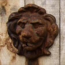Tête de lion sortie d'eau pour fontaine murale - - Décoration Jardin Gargouille