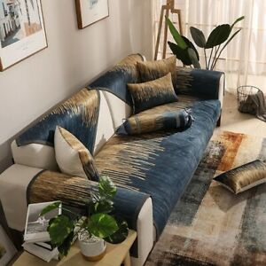 Modern Sofa Cover Cushion Sofa Towel Non Slip Couch Cover Luxurious  Slipcover
