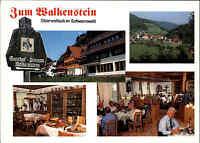 Oberwolfach Schwarzwald Postkarte Ansichtskarte Hotel Gasthof Zum Walkenstein