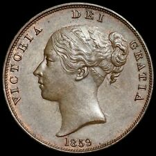 More details for victoria, 1837-1901. penny, 1859.