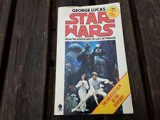 Star Wars  from the adventures of Luke Skywalker in paperback.