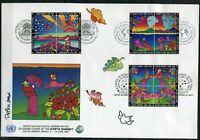 UNO Trio Brief 1992 Ersttagsbriefe/ FDC Umweltgipfel (GF11309