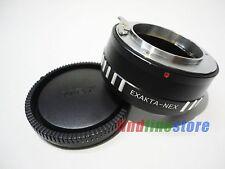 Adapter for Exakta EXA Lens to Sony E NEX 3 NEX 5 NEX 7 NEX C3 5C 5N 5R 5T + CAP