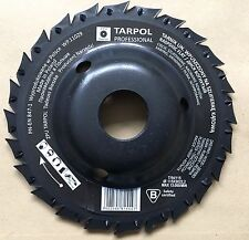 Angle grinder 115x3x22,2 saw disc blade wood rasp disc tapered middle