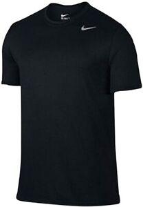 Nike Men's Legend Short Sleeve Dri-Fit Shirt 727982, Black, Size Small geUl