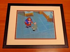 Beauty and The Beast Animation Cell Custom Matted and Framed 7.5 x 9