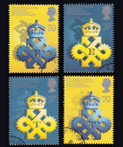 1990 Great Britain Queen's Awards Set USED