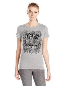 Size S - Icebreaker Tech Lite SS Crewe T Shirt Off The Couch Graphic Rrp $110