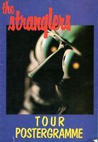 THE STRANGLERS 1980 TOUR CONCERT POSTER PROGRAM PROGRAMME BOOK