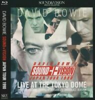 David Bowie Tokyo Dome 1990 Complete Sound And Vision Japan Tour Blu-ray 2 Discs