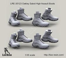 Live Resin 1/35 LRE-35123 Oakley Sabot High Assault Boots