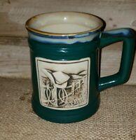 "2013 Burton- John Wayne ""Courage"" Stoneware Coffee Mug 4.5""T x3.5""Dia Excel Cond"
