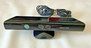 Official Microsoft Xbox 360 Black Kinect Motion Sensor Camera Bar - TESTED