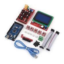 3D Printer Kit RAMPS 1.4+ Mega2560+ A4988+ 12864 LCD Controller For Arduino xixi