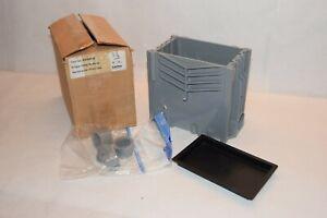 (NEW) CARLON E976RFB Single Gang Modular Rectangular Floor Box