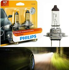 Philips Standard H7 55W Two Bulbs Head Light Low Beam Replacement Plug Play Lamp