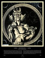 Limited Edition COPERNICUS print by Stanislav Szukalski