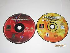 Playstation 1 - Lot Of 2 Black Label 007 Games - Disc Only