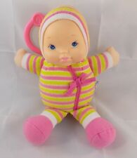 "Goldberger Plumpee Baby's First Doll 9"" Clip On Stuffed"