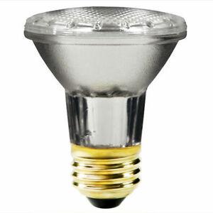 (10)SYLVANIA 50-Watt PAR20 Indoor/Outdoor Halogen Capsylite Flood Light - 475 Lu