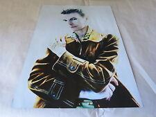 DAVID BOWIE - Mini poster couleurs 17 !!!