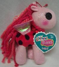 "Lalaloopsy Ponies LADY B. PINK PONY 6"" Plush STUFFED DOLL Toy NEW"