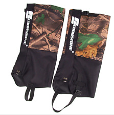 1pair Waterproof Snake Leg Gaiter Outdoor Hiking Camping Hunting Snow Proof