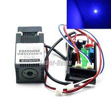 445nm 450nm 500mW Blue Focus Dot Laser Diode Module 12V w/ TTL & Driver & Fan