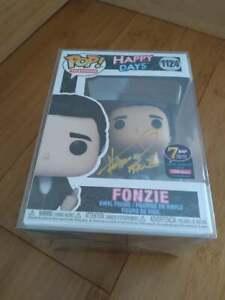 Funko Pop Happy Days Fonzie Signed By Henry Winkler Autograph 7BAP JSA COA