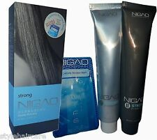 Nigao Japanese IDA Cyrstal System Hair Straightening Straight Cream STRONG