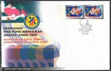 MALAYSIA 2000 World Team Table Tennis Championships Dawei Impef FDC