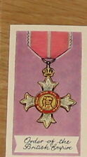 #17 Order of the british empire 1959 Medal card