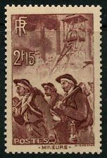 STAMP / TIMBRE FRANCE NEUF N° 390 **  MINEUR