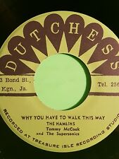 DUCHESS RECORDS WHY YOU HAVE TO WALK THIS WAY/ TOM DOOLEY HAMLINS
