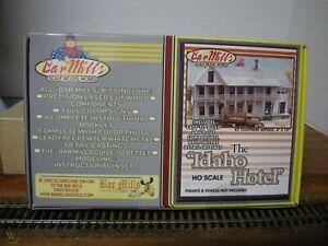 Idaho Hotel By Bar Mills Scale Model Works Laser Cut Wood Kit