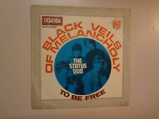 "STATUS QUO:Black Veils Of Melancholy-To Be Free-France 7"" 68 Pye 45 PV.15289 PSL"